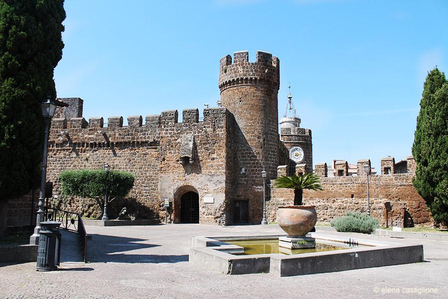 La Rocca duecentesca, sede dell'attuale Museo Nazionale Cerite a Cerveteri