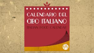 Banner Calendario cibo Italiano