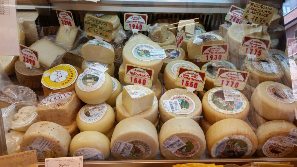 formaggi amatrice