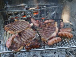 bistecche e salsicce