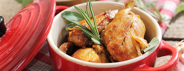 Pollo alla cacciatora particolare