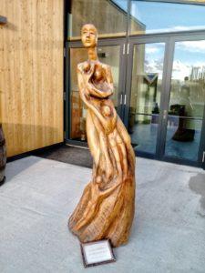 Statua ristorante Matru Amatrice