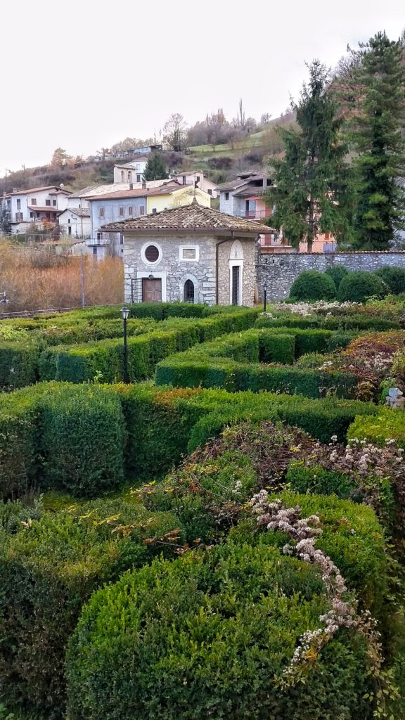 Posta (Rieti) giardino comunale