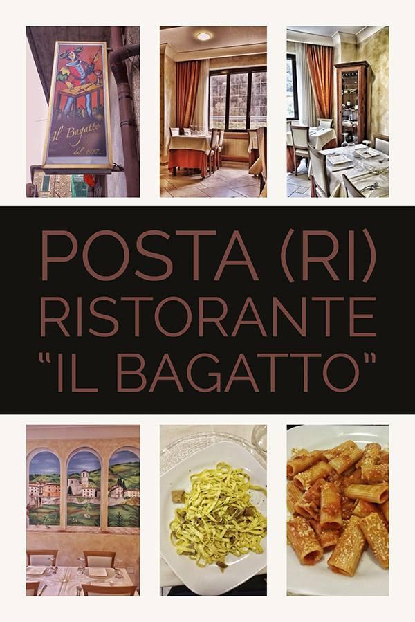 Ristorante il Bagatto, Posta Rieti