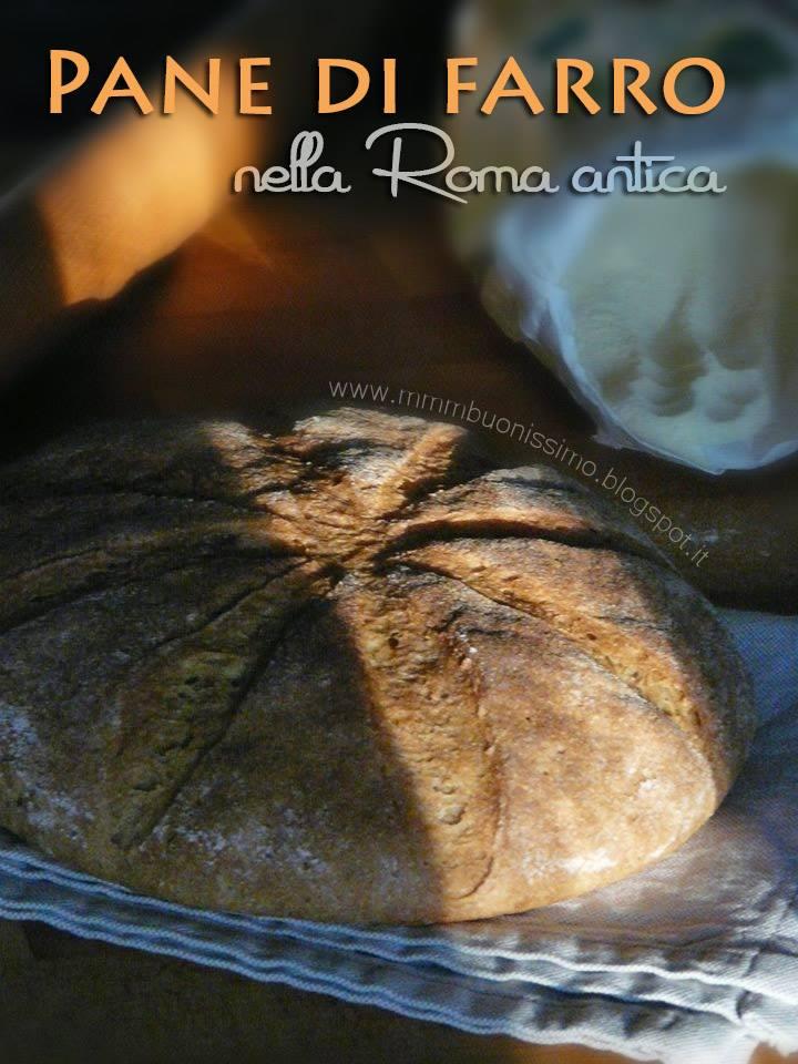 pane di farro della antica Roma