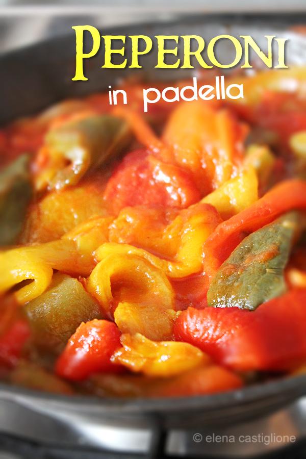 peperoni in padella alla romana