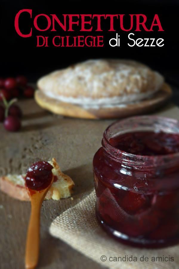 confettura di ciliegie di Sezze 1