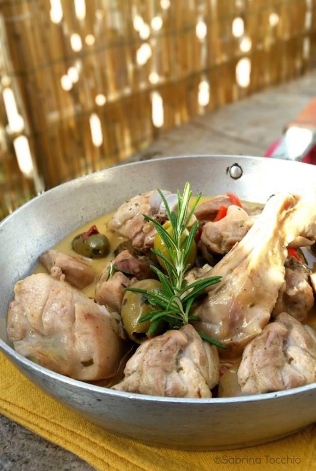 Cacciatora mista di pollo, coniglio e abbacchio