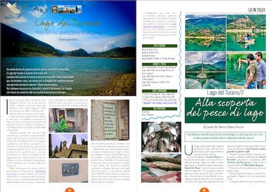 Lago del Turano su Lazio Gourmand-Magazine n 1