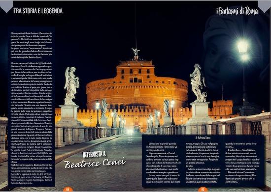 i fantasmi di roma su Lazio Gourmand-Magazine n 1
